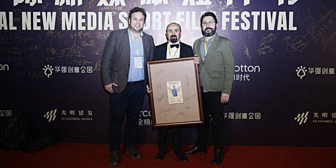 Çin Uluslararası Kısa Film Festivali'ne Türkiye Damgası 1 – Yılmaz Özdil ödül