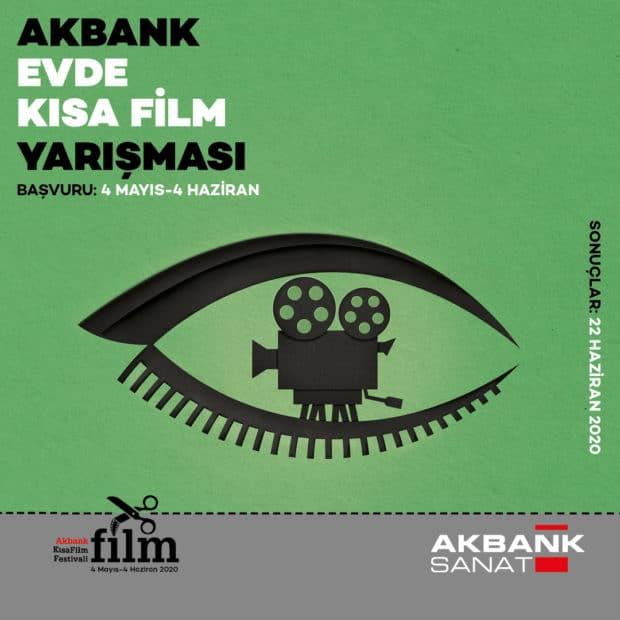 Evde Kısa Film Yarışması Kısa Filmlerinizi Bekliyor 1 – Akbank Evde Kısa Film Yarışması