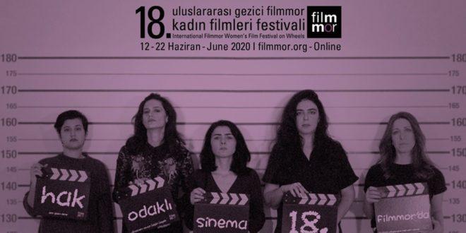 18. Filmmor Kadın Filmleri Festivali 12 Haziran'da Başlıyor 1 – 18Filmmor Kadın Filmleri Festivali header