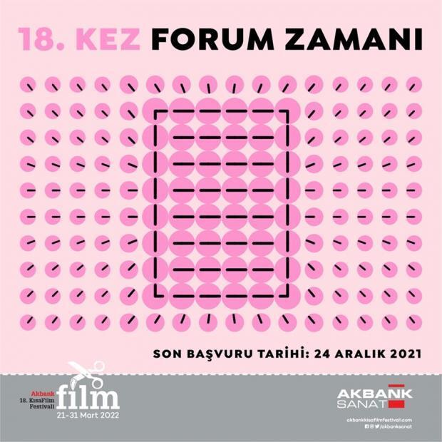 18. Akbank Kısa Film Festivali Senaryolarınızı Bekliyor 1 – 18 Akbank Kisa Film Festivali Akbank Kisa Film Forum 1