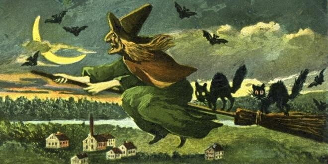 Tılsımları Hazırlayın: Cadılar Hakkında Büyülü Bilgiler! 1 – Cadi Supurge Kedi