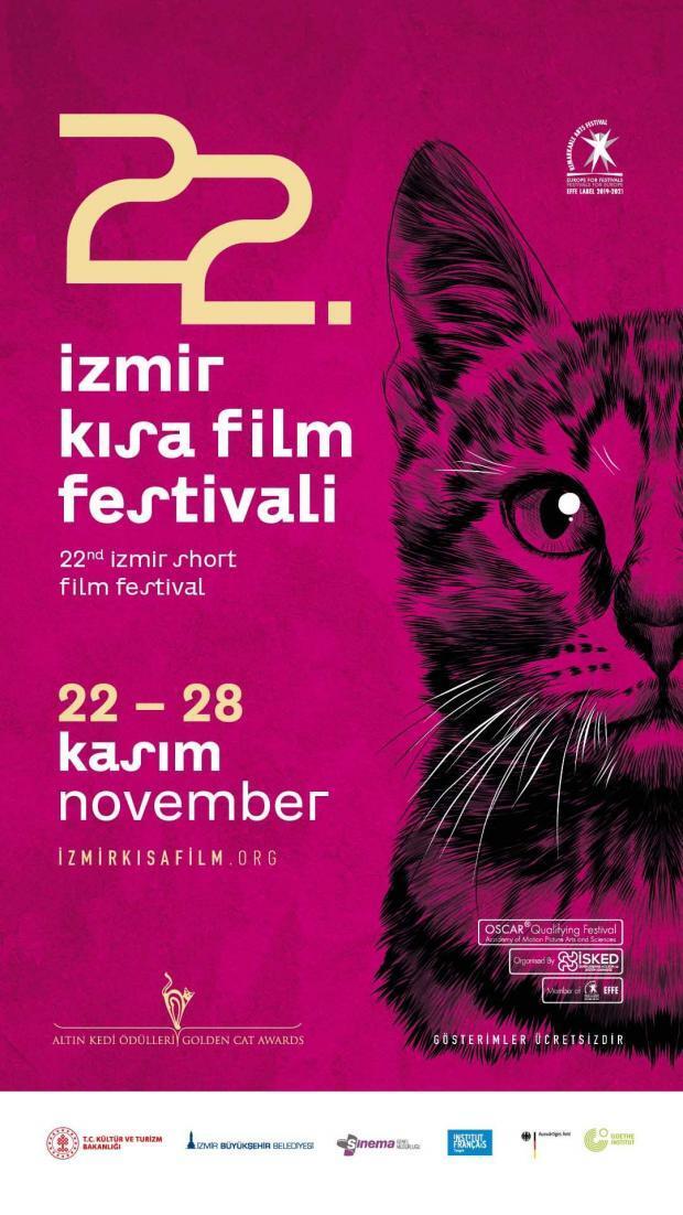 İzmir Kısa Film Festivali 22. Kez Yola Çıkıyor 1 – 22 Izmir Kisa Film Festivali afis